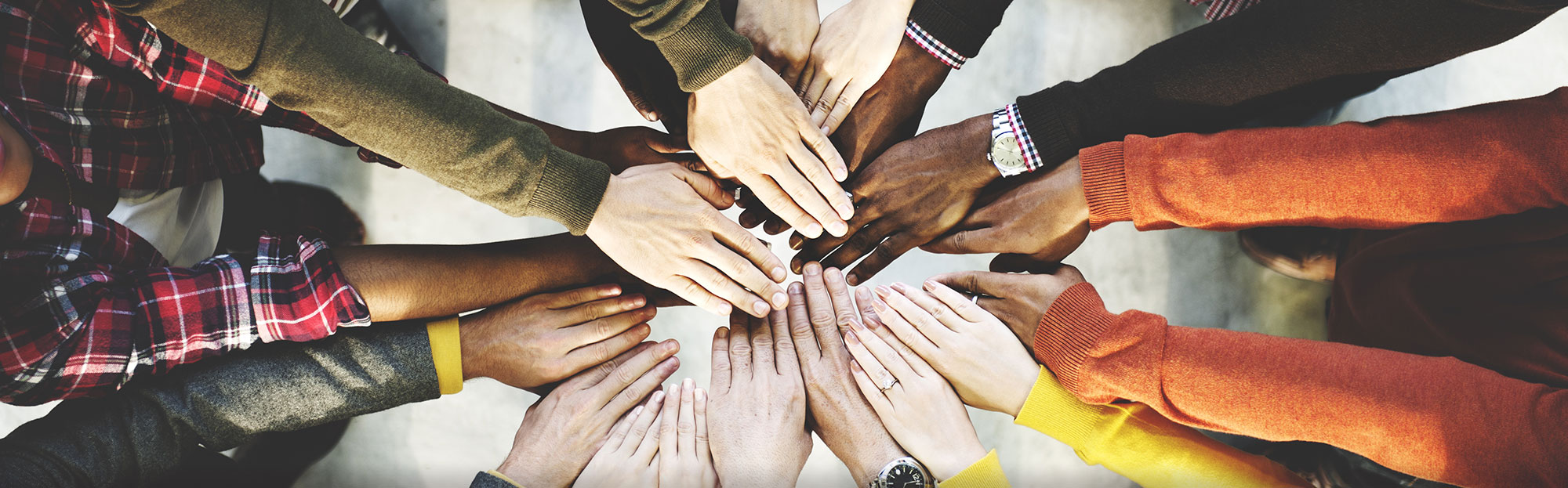 Diverse Circle of Hands